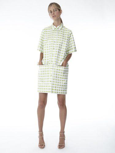Vestido estilo camisa de cuadros vichy de la colección 'Resort 18' de '2ND LAB by The 2nd Skin Co'