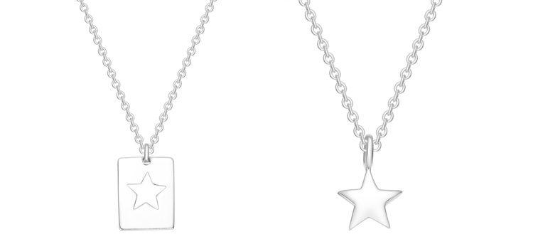 Collares complementarios de estrella de la colección 'Best Friends' de Apodemia