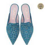 Zapatos estilo étnico de Pretty Ballerinas de la colección de verano 2018 por Olivia Palermo