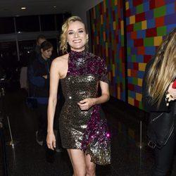 Diane Kruger con un vestido de lentejuelas en la premiere de la película 'In the fade' en Nueva York