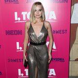 Margot Robbie espectacular en la presentación de la película 'I Tonya' en Los Ángeles