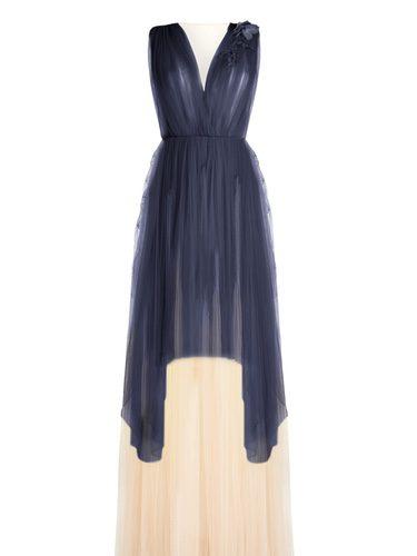 Vestido de tul de la colección cápsula que Delpozo venderá en Stylebop.com