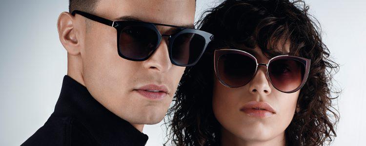 Gafas de sol de la firma Karl Lagerfeld y la compañía Marchon