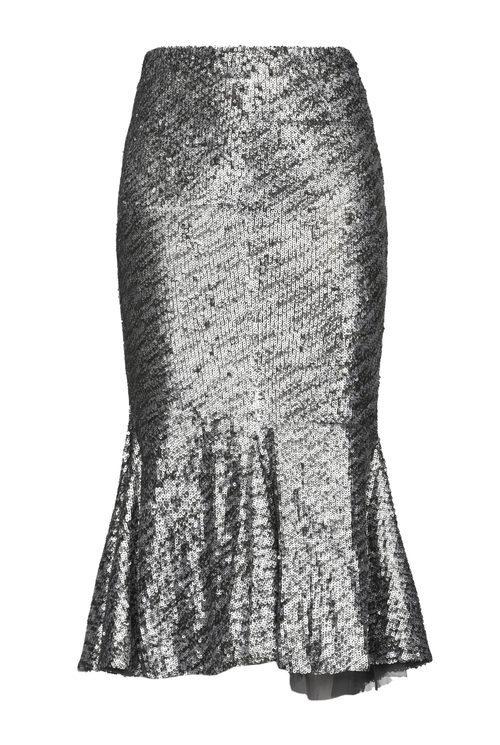 Falda larga de lentejuelas de Pinko de la colección para esta Navidad 2017