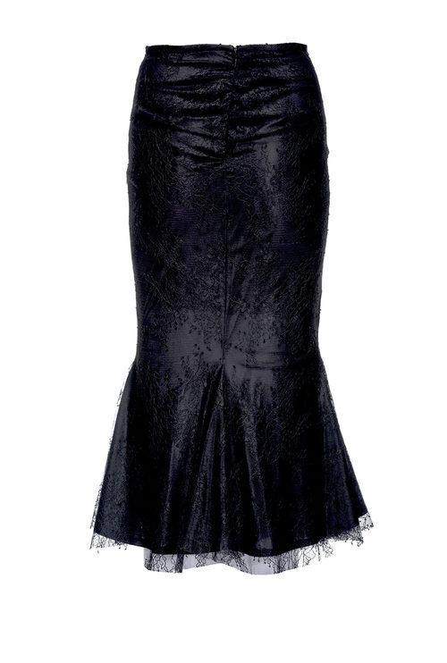Falda larga de encaje de Pinko de la colección para esta Navidad 2017