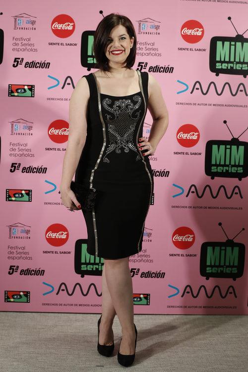 Mariona Ribas con total black look en los Premios MIM 2017