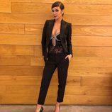 Cristina Pedroche con un estilismo muy sensual para visitar 'El Hormiguero'