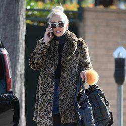 Gwen Stefani con un street style muy felino por Los Ángeles