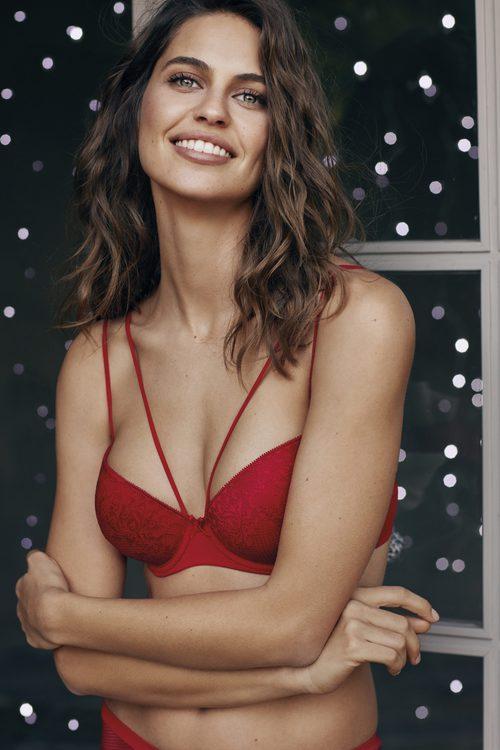 Sujetador rojo de la colección 'The New Underwear Collection' de Promise