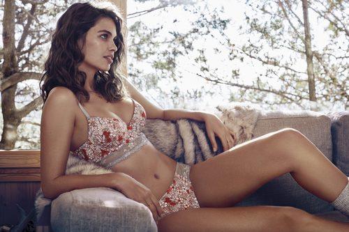 Sujetador y braguita de flores de la colección 'The New Underwear Collection' de Promise