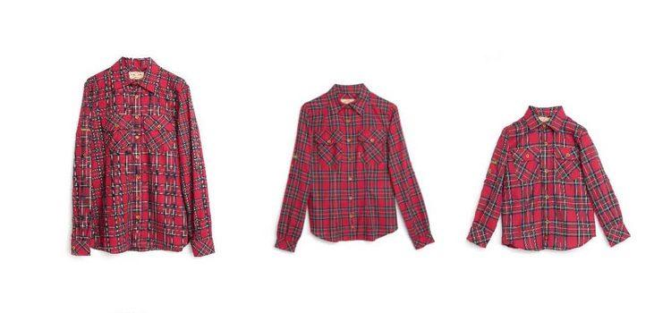 Camisas de hombre, mujer y niño de la colección 'Essentials' de Imiloa
