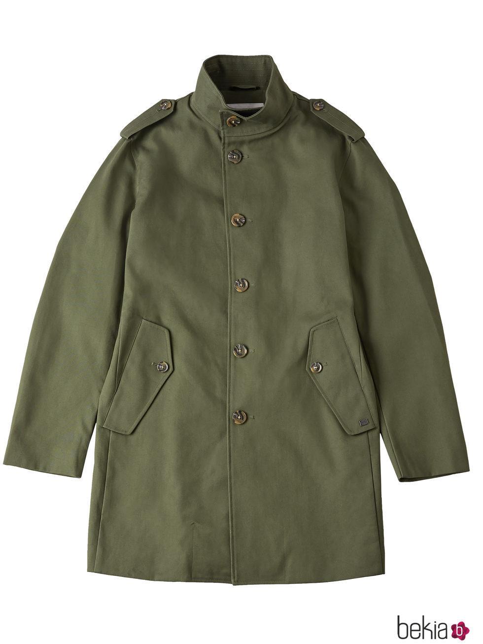 Militar Verde Hombre La Estilo Para Abrigo De Primavera Colección qF6ZUwF5