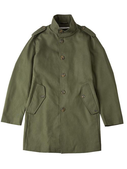 Abrigo estilo militar verde para hombre de la colección de Primavera-Verano 2018 de Esprit