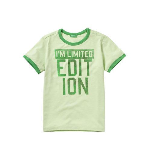 Camiseta 'Limited edition' para niño de la colección de Primavera 2018 de Benetton