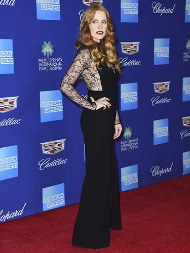 Jessica Chastain con vestido de Givenchy en el Festival de Palm Springs