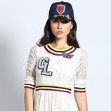 Vestido de encaje blanco de Guts & Love de la colección otoño/invierno 2018