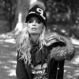 Cristina Tosio con vestido cachemire de Guts & Love de la colección otoño/invierno 2018