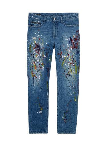 Pantalones denim masculinos de Calvin Klein de la colección primavera jeans 2018