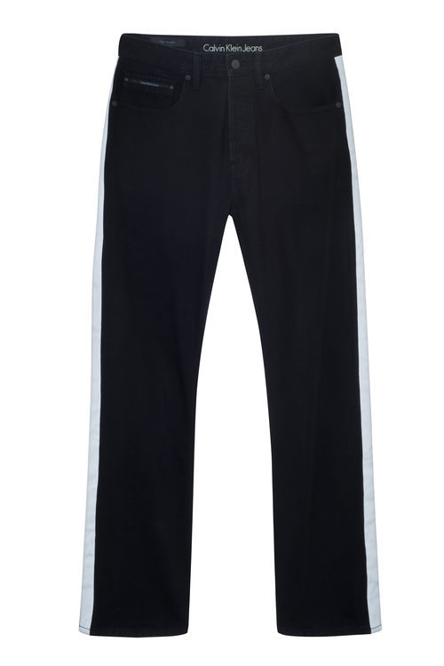 Pantalón negro masculino de Calvin Klein de la colección primavera jeans 2018