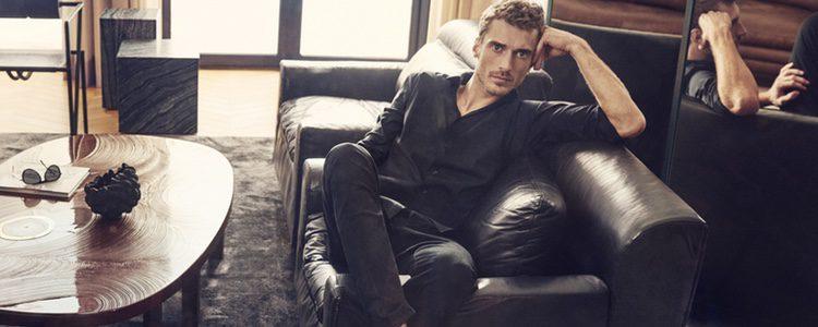 Clément Chabernaud modelo de la nueva colección de Jimmy Choo primavera/verano 2018