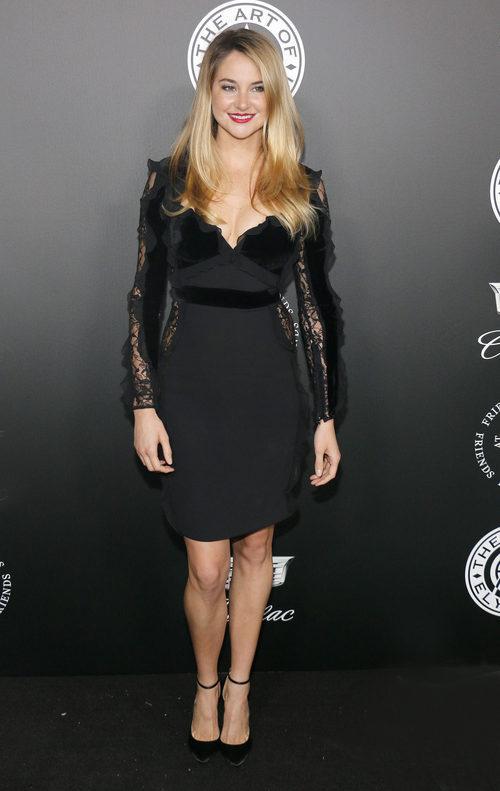 Shailene Woodley con un diseño de Elie Saab en la gala TAOE Heaven 2018