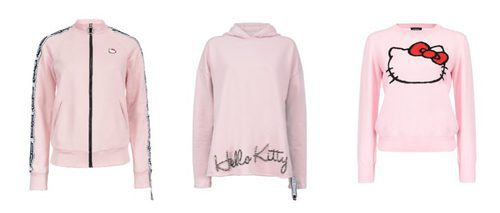 Las chaquetas rosas de Hello Kitty by Pinko