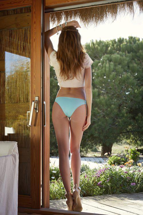 Braguita turquesa de la colección Primavera/Verano 2018 de Ysabel Mora