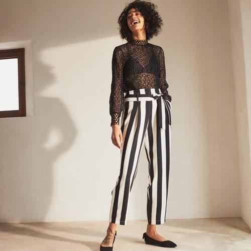 Blusa transparente de la colección de H&M Resort 2018