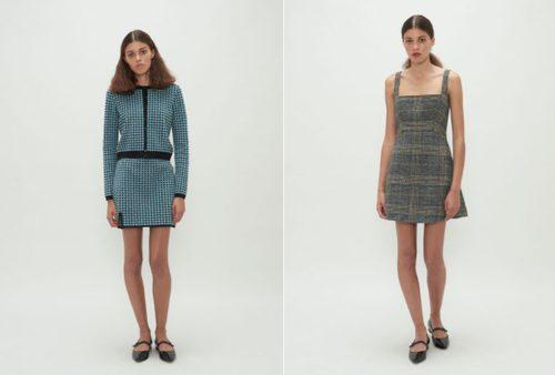 Vestidos de cuadros de la colección Fantastic de Alexa Chung 2018