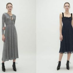 Vestidos largos de la colección Fantastic de Alexa Chung 2018