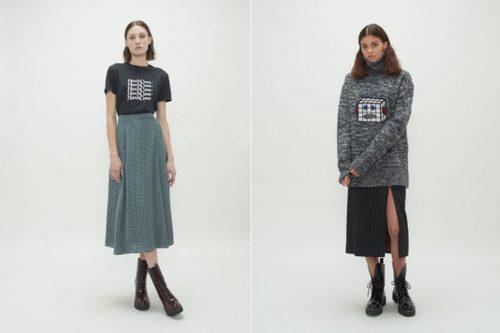 Faldas Largas de la colección Fantastic de Alexa Chung 2018