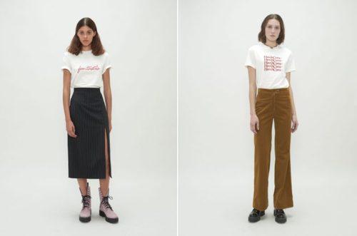 Camisetas estampadas de la colección Fantastic de Alexa Chung 2018