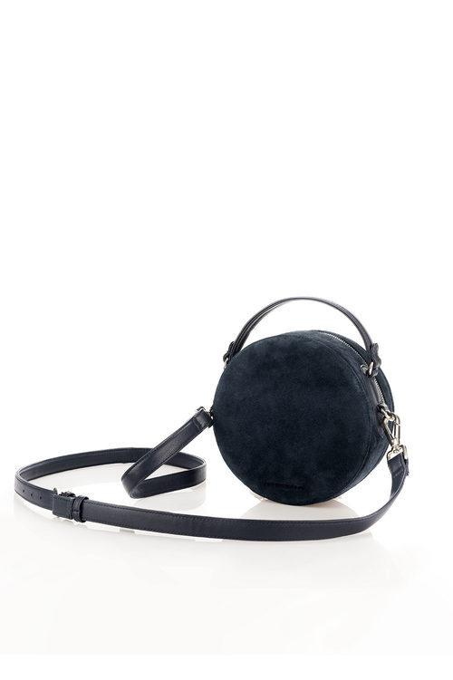 Minibolso de color negro de la colección de accesorios para la temporada de primavera/verano 2018 de Salsa