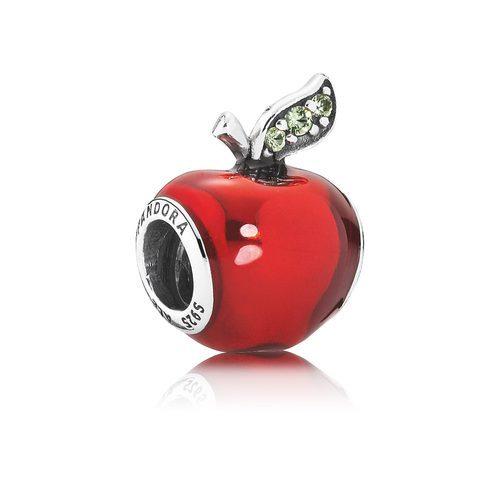 Charm de manzana de Blancanieves de la colección de 'Disney x Pandora' para San Valentín