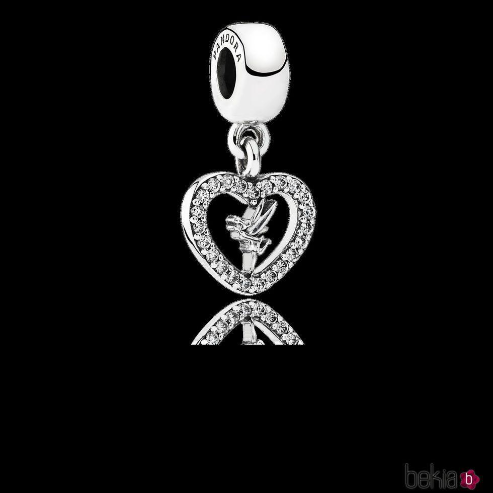 Charm Amor de Campanilla de la colección de 'Disney x Pandora' para San Valentín