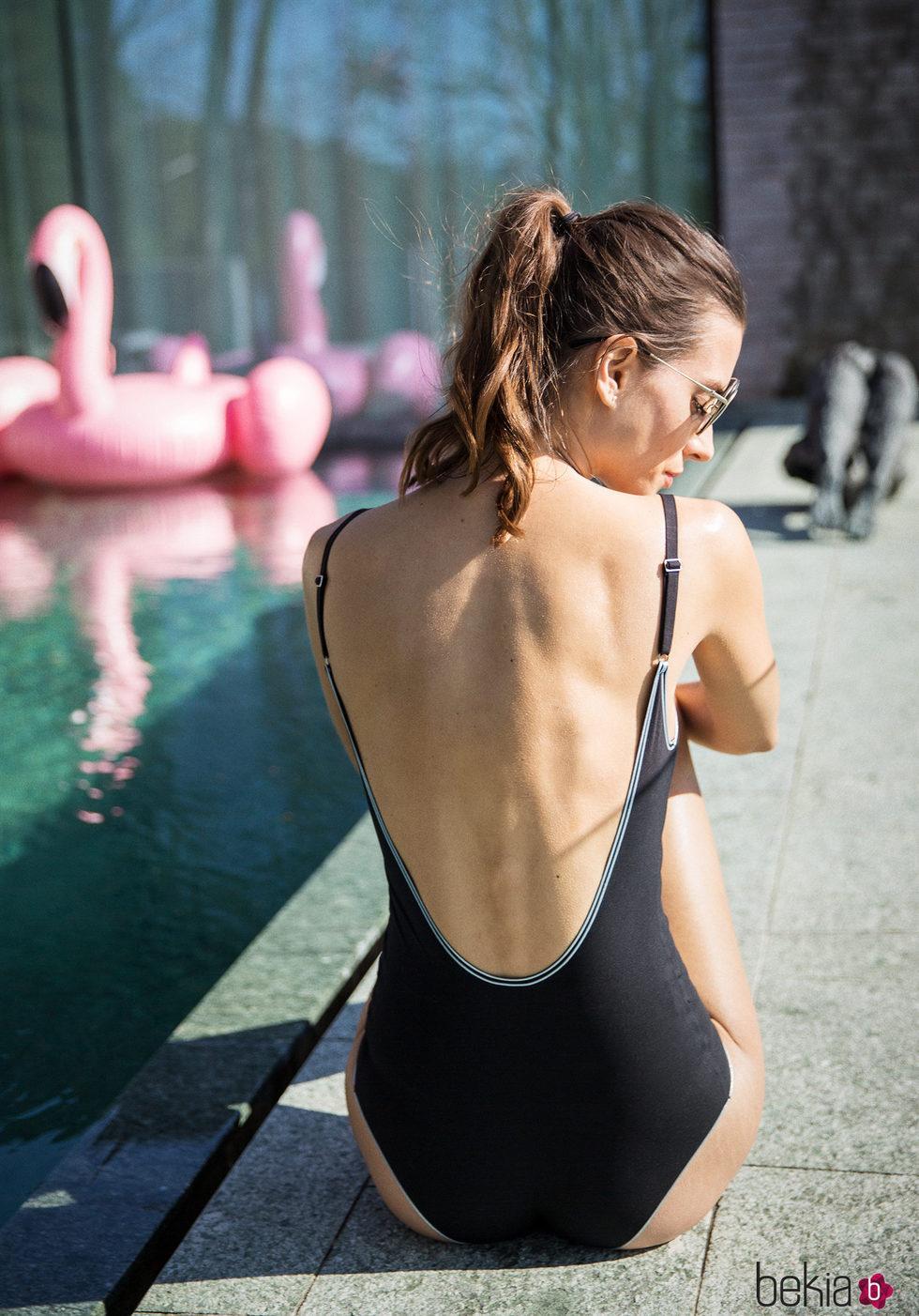 Bañador de tirantes con espalda al descubierto de la colección primavera/verano 2018 de Wolford