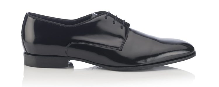Zapato STEFAN negro de la colección otoño/invierno 2017/2018 de hombre de Jimmy Choo