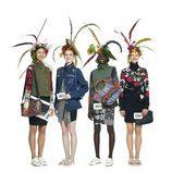 Conjunto de prendas de mujer de la línea Bohemian Flowers de la colección 'Unexpected' de Desigual para la temporada primavera/verano 2018
