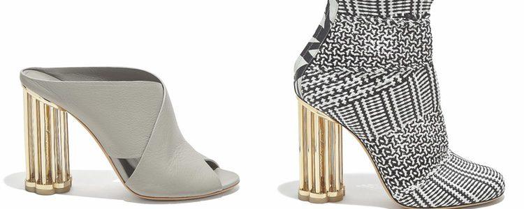 Botines cerreto y sandalias Abriola grises de la colección SS18 de Salvatore Ferragamo