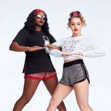 Pantalones cortos con pedrerías de la colección Athleisure primavera/verano 2018 de Swarovski