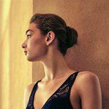 Bralette negro de bordados de la colección de Oysho primavera/verano 2018