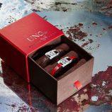 Pulseras de cuero y plata de la colección UNOde50 para San Valentín Genderless