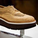 Zapatos de rafia trenzada de Clergerie hombre para la temporada FW18