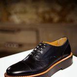 Zapatos negros de cuero de Clergerie hombre para la temporada FW18