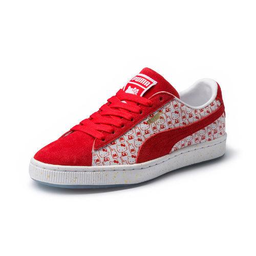 Zapatillas Suade de la colección de Puma x Hello Kitty