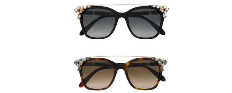 Nuevos diseños de gafas de sol Carolina Herrera en dos tonos 2018
