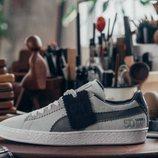 Zapatilla Puma  gris con la colaboración de Michael Lau  2018