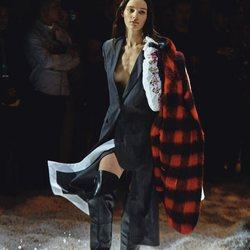Desfile de Calvin Klein para otoño 2018 en la Nueva York Fashion Week