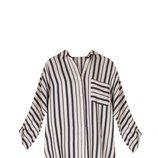 Camisa de rayas blancas y negras de la nueva colección de Dándara