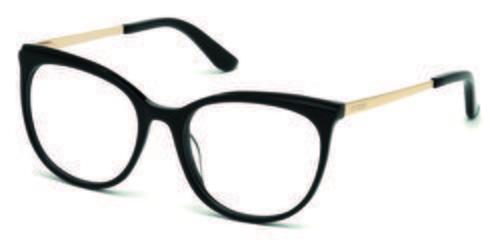 Gafas en forma de ojo de gato negras de la colección de Guess SS18